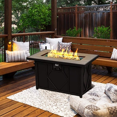 BALI OUTDOOR Propane Gas Fire Table
