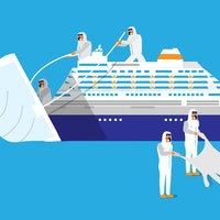 Cruise ship study exemplifies the danger of asymptomatic patients