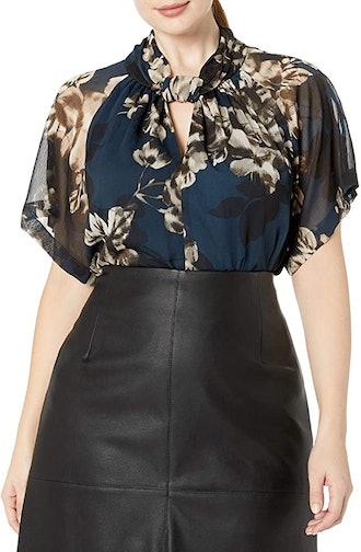 RACHEL by Rachel Roy Plus Size Chiffon Kimono Top