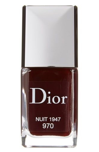 Vernis Gel Shine & Long Wear Nail Lacquer in Nuit 1947