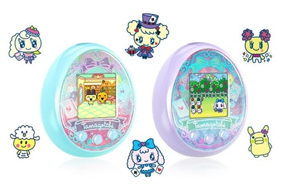 Tamagotchi On Wonder Garden comes in two new colors: turquoise and lavender.