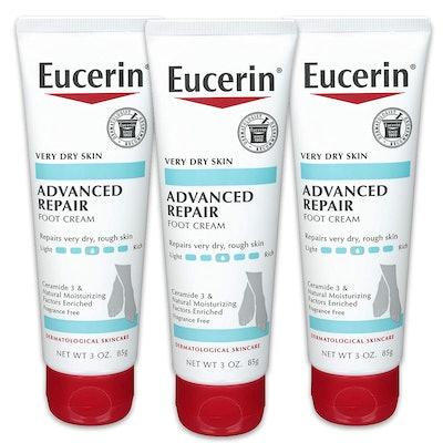 Eucerin Advanced Repair Foot Cream (3-Pack)