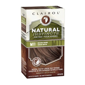 Clairol Natural Instincts Semi-Permanent Hair Color For Men