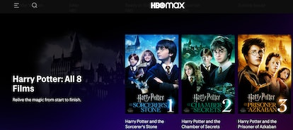 HBO Max has all eight 'Harry Potter' films available to stream in one place.