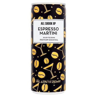 All Shook Up Espresso Martini