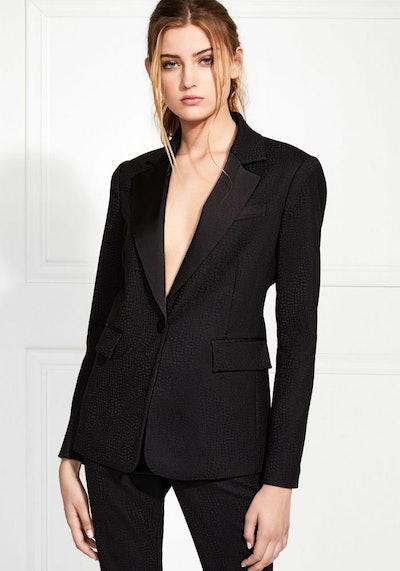 Sienne Textured Suiting Blazer