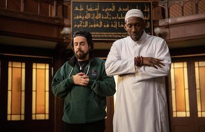 Ramy (Ramy Youssef) and Sheikh Ali Malik (Mahershala Ali) in 'Ramy' Season 2
