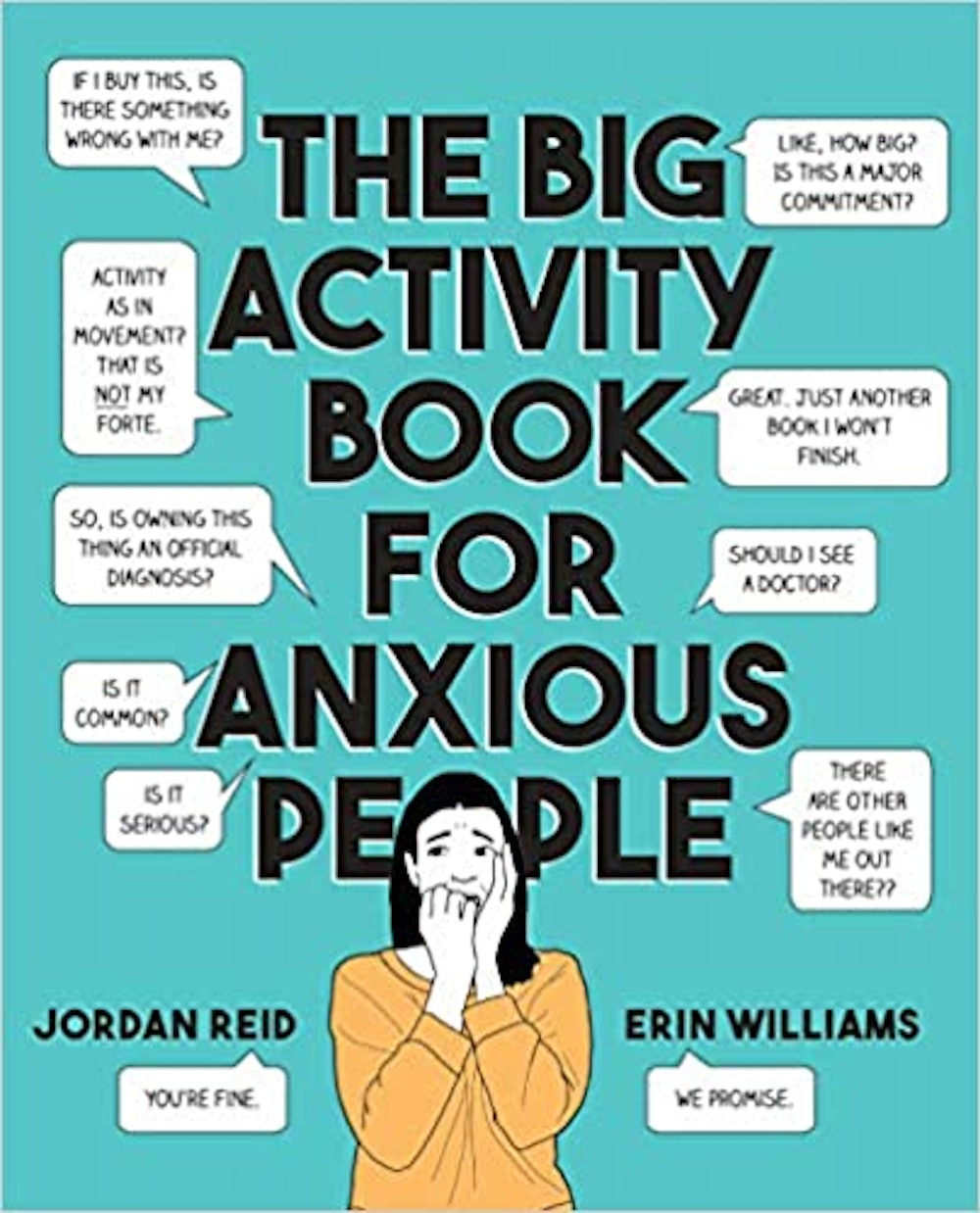The Big Activity Book for Anxious People