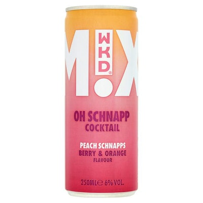 WKD Mixed Cocktail Oh Schnapp