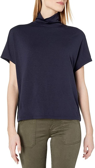 Daily Ritual Slouchy Turtleneck Top