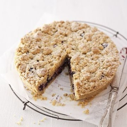 Kroger's berry streusel recipe uses premade cookie dough.