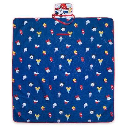 Mickey Mouse Summer Fun Picnic Blanket