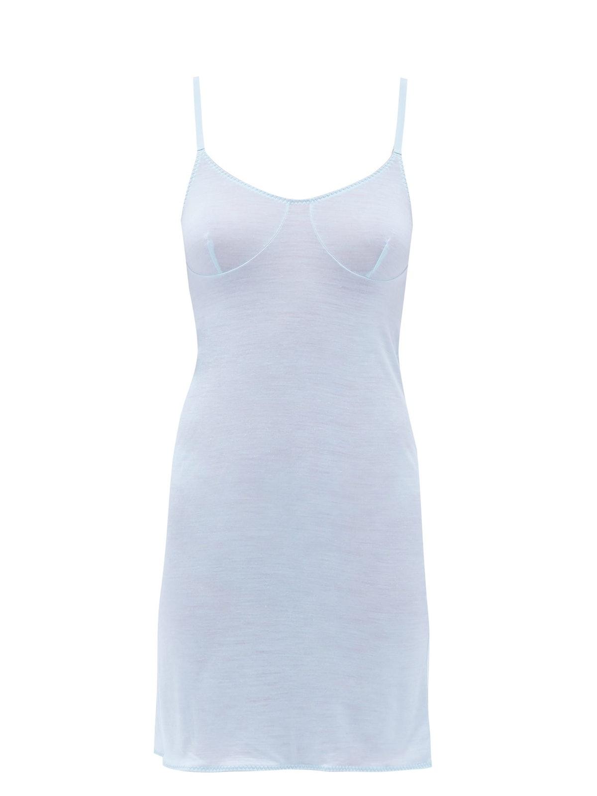 Burtas Adjustable-Strap Slip Dress
