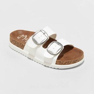Genna Platform Footbed Sandals