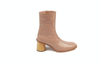 Caribou Boots Pink Patent