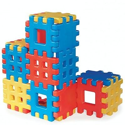 Little Tikes Big Waffle 18-Piece Building Block Set