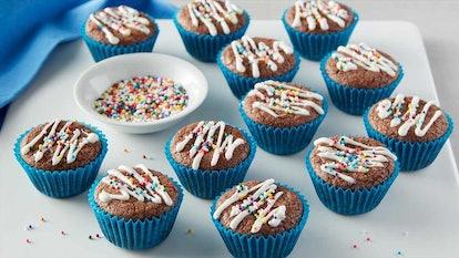 Turn cookie dough into mini cookie cups with a mini muffin tin.