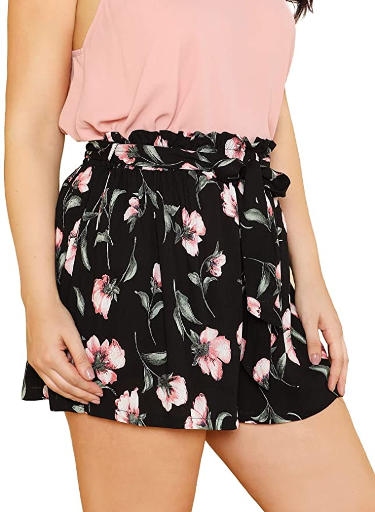 Floerns Plus Size Shorts