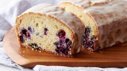Pillsbury's lemon poundcake uses a tube of premade sugar cookie dough.