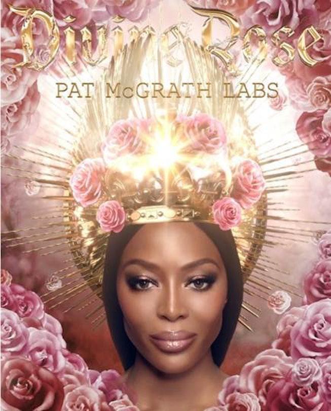 Pat McGrath global face Naomi Campbell