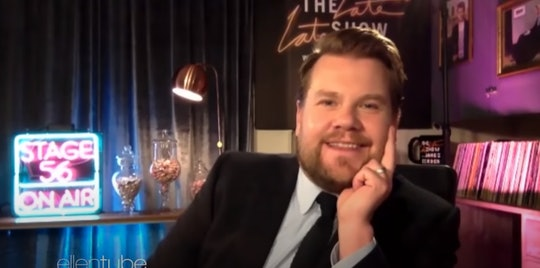 James Corden opened up about homeschooling struggles during quarantine.