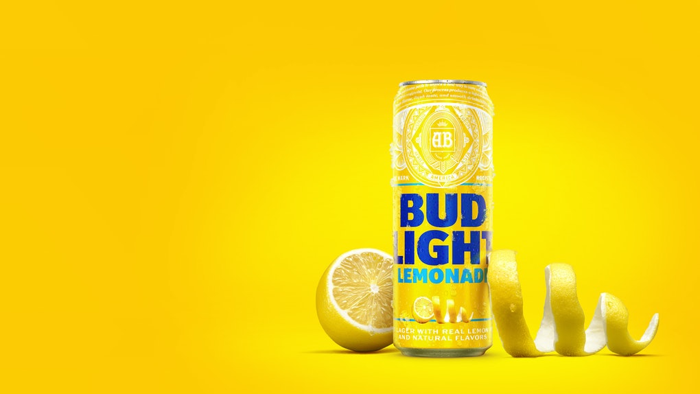 This new Bud Light Lemonade is perfect for the summer.