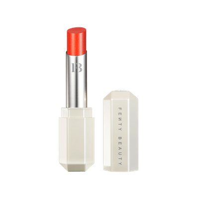 Fenty Slip Shine Sheer Shiny Lipstick in Tang Thang