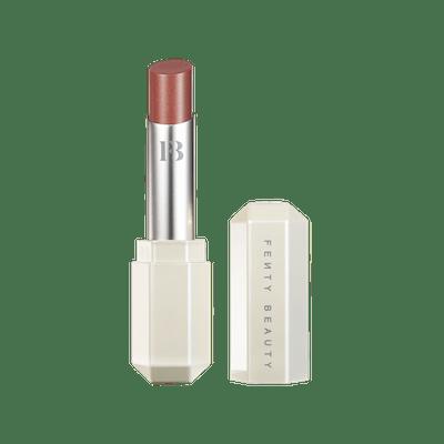 Fenty Slip Shine Sheer Shiny Lipstick in Cookies & Cocoa