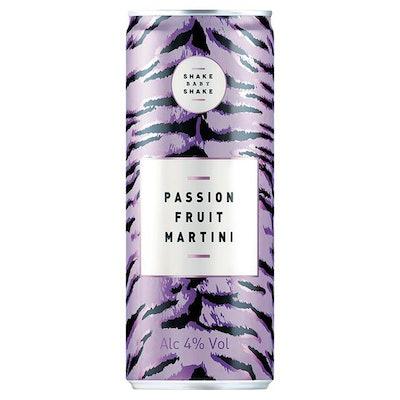 Shake Baby Shake Passion Fruit Martini
