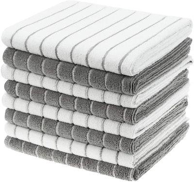 Gryeer Microfiber Kitchen Towels (8-Pack)