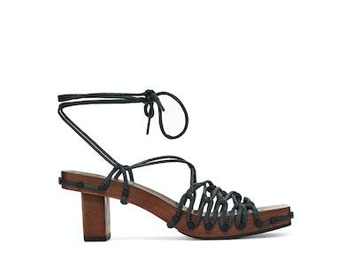 Lace On Lace Sandal