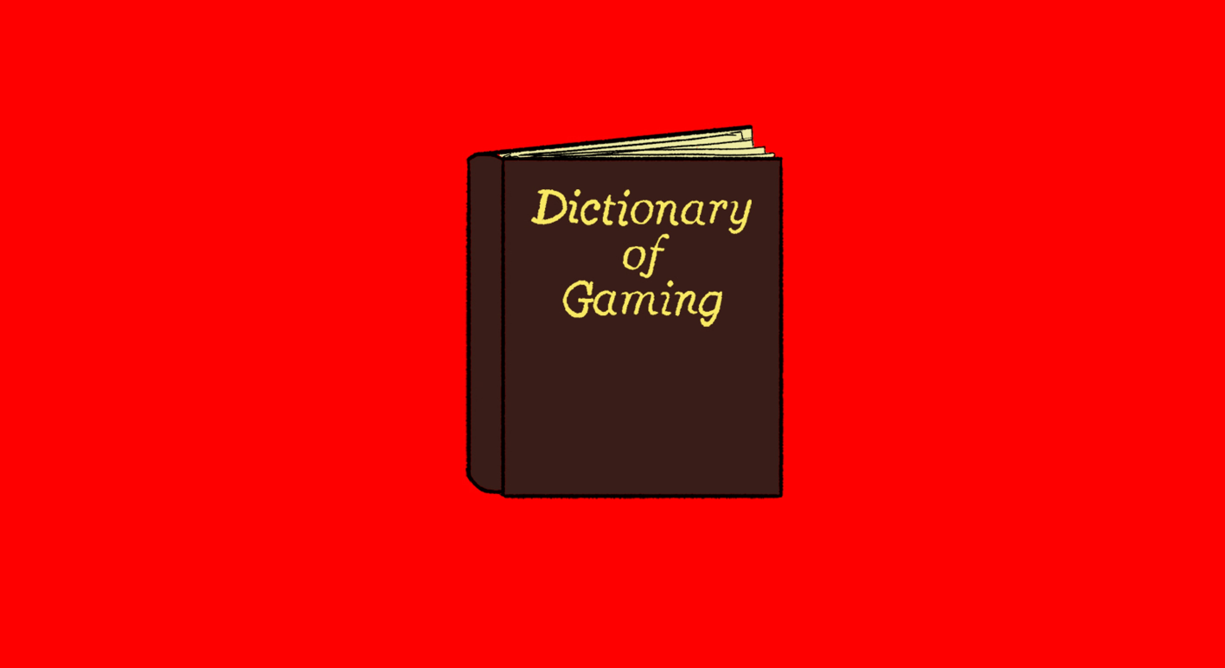 Gaming terms to add to your vocabulary - cover
