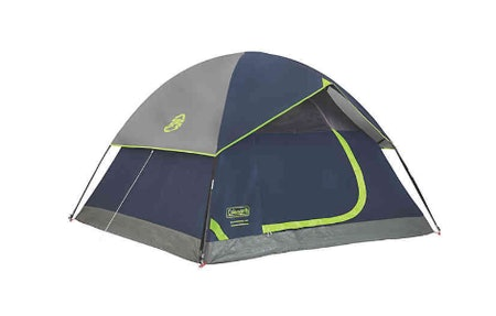 Coleman Sundome 4-Person Dark Room Tent in Navy