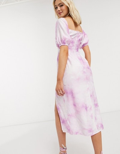 The East Order Joplin Tie Dye Midi Dress