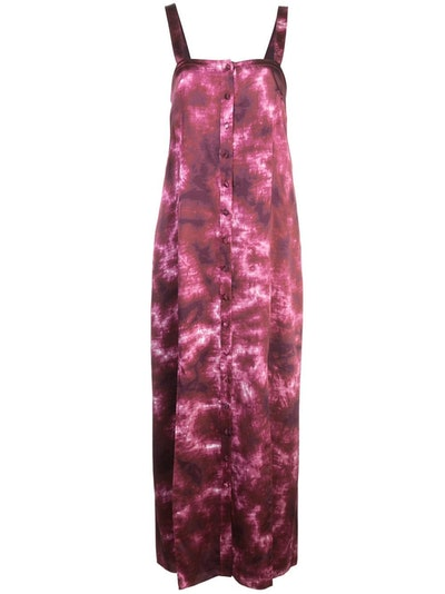 Cinq a Sept Tie-Dye Midi Dress