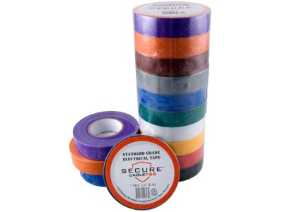 Multi-Colored Electrical Tape