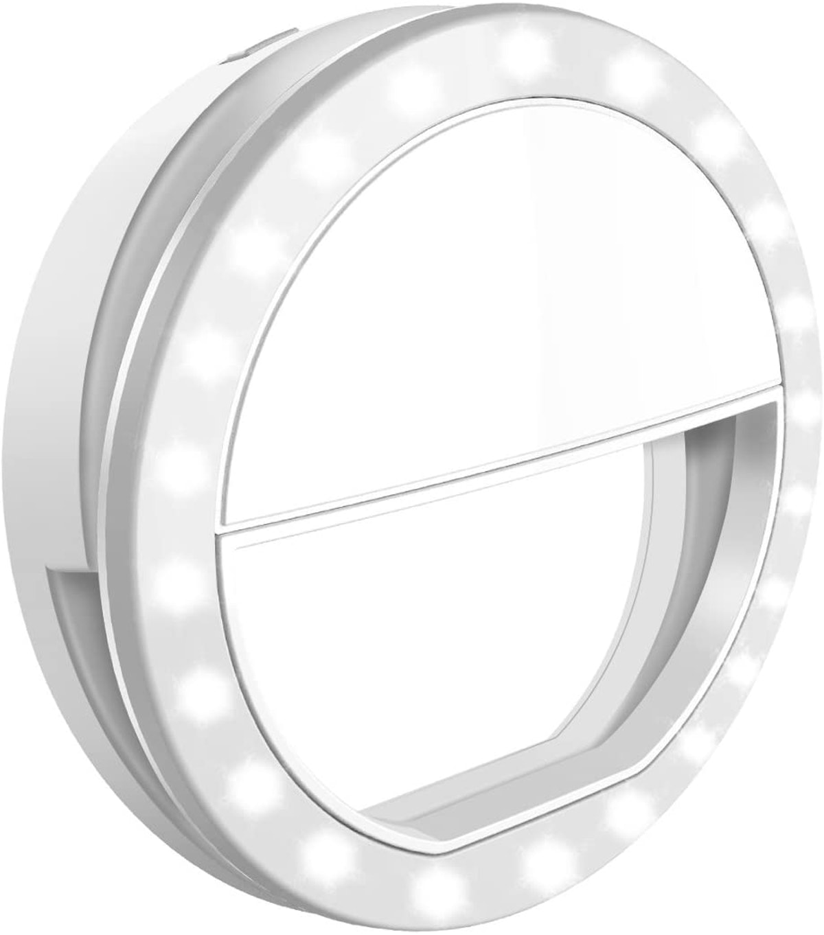 Criacr Rechargeable Selfie Ring Light