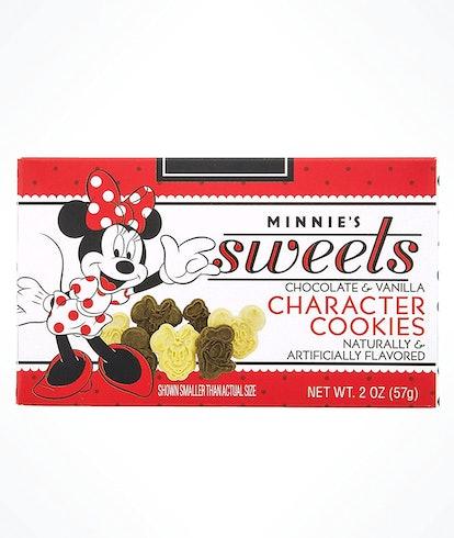 Disney Parks Disneyland Minnie's Bake Shop Assorted Chocolate and Vanilla Character Cookies