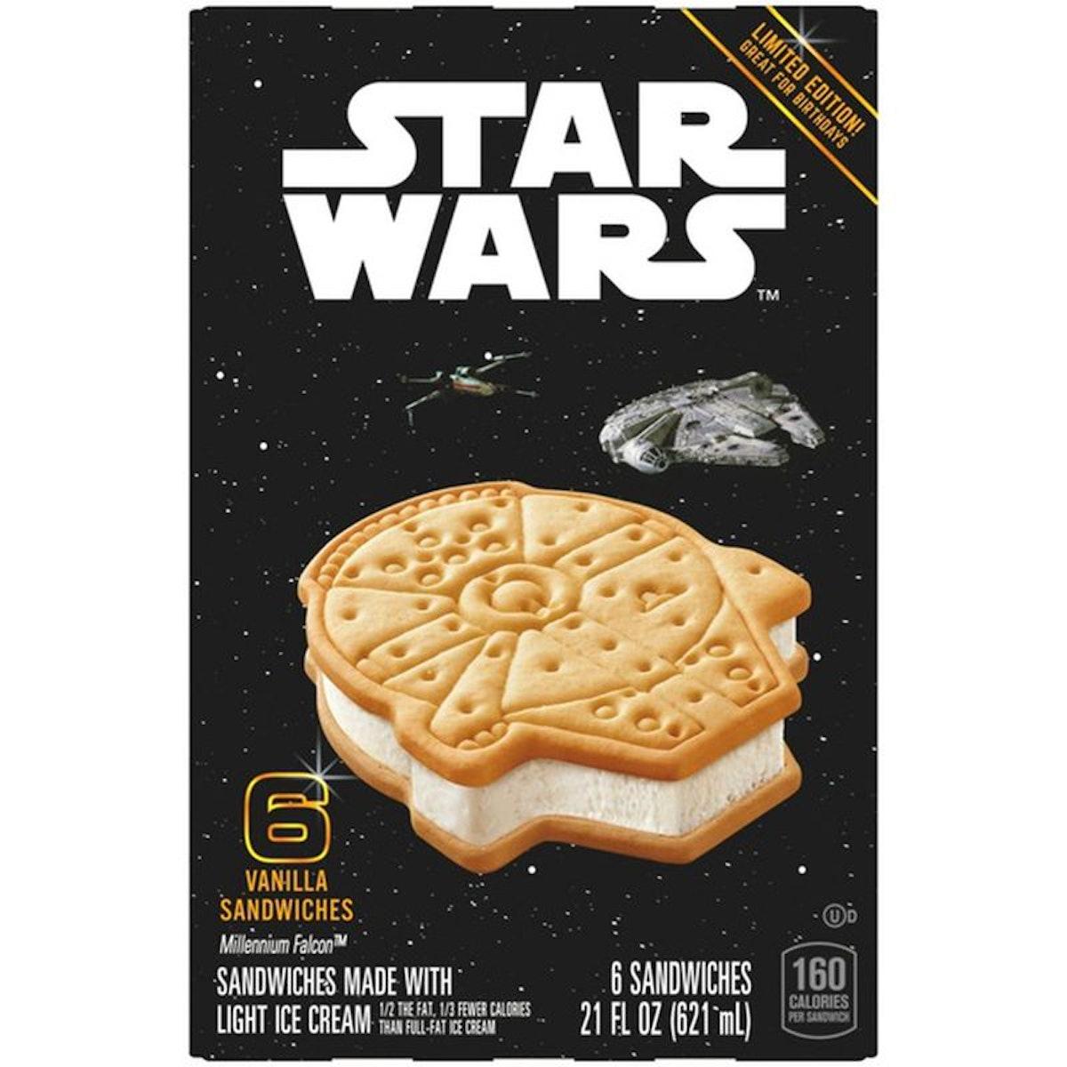 Star Wars Limited Edition Ice Cream Sandwiches