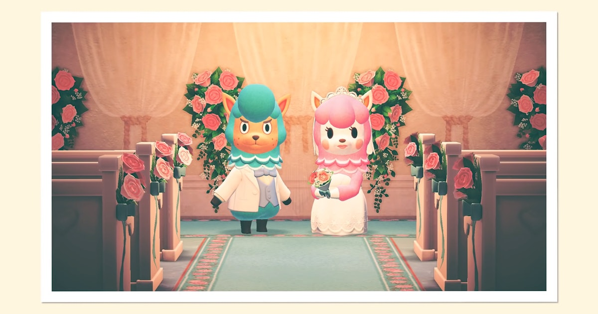 Everything you need to know about Wedding Season in 'Animal Crossing'