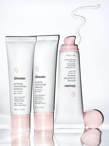 Glossier's Priming Moisturizer Balance is for oily skin.