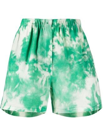 Tie Dye Print Shorts