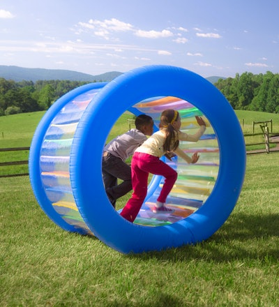 Giant Inflatable Rolling Wheel