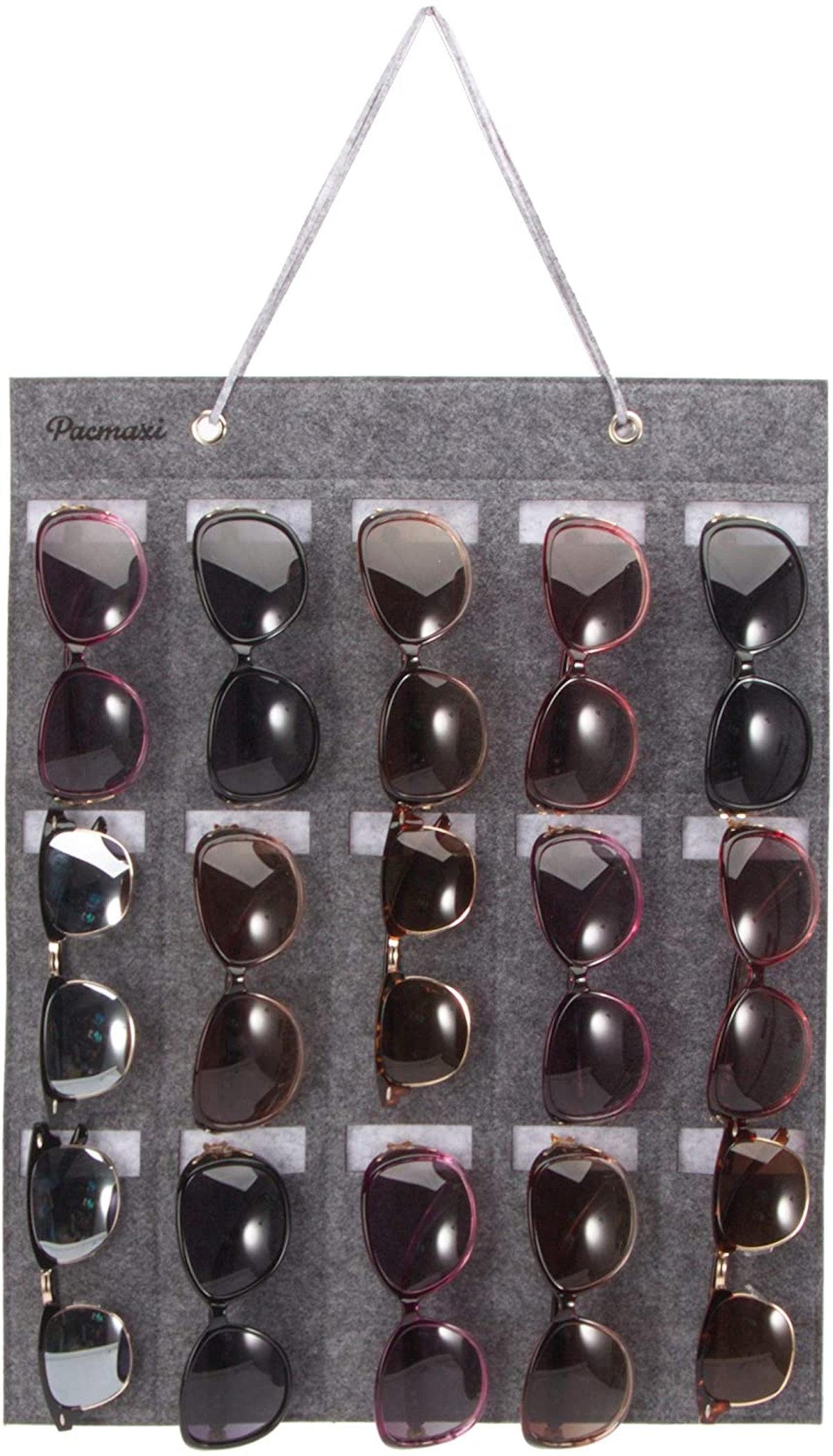PacMaxi Sunglasses Storage Organizer