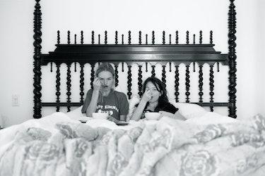 Kate Bosworth and her stepdaughter Jasper.