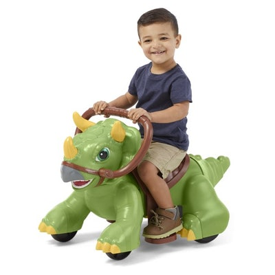 Kid Trax Rideamals Dino