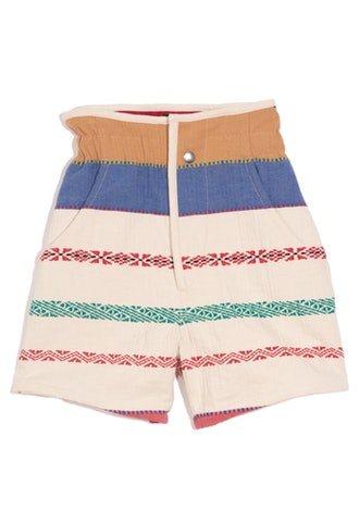 Baixa Shorts in Multicolor
