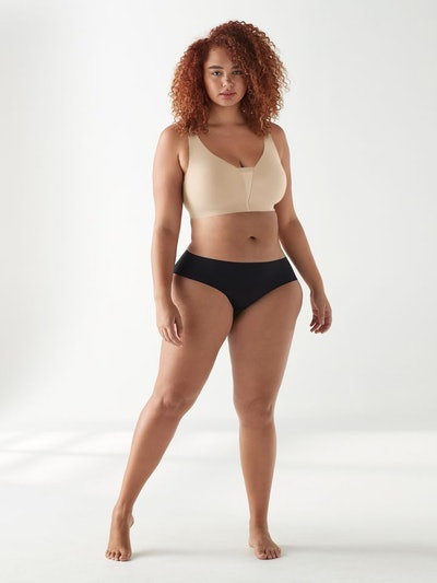 True Body Mesh Adjustable Strap Bra