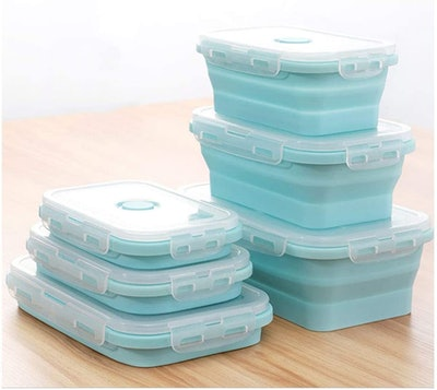 SaraCloth Silicone Food Storage Containers (3-Piece Set)