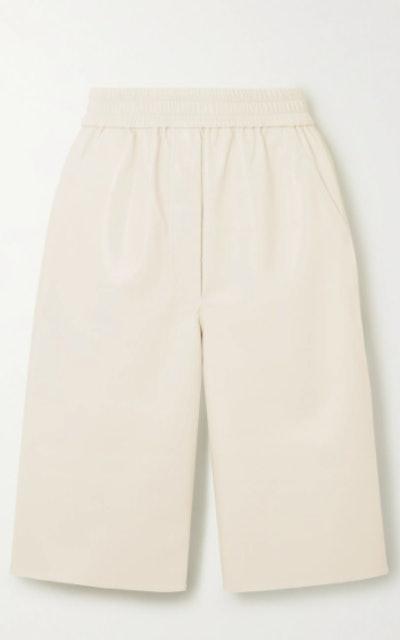 Yolie Vegan Leather Shorts